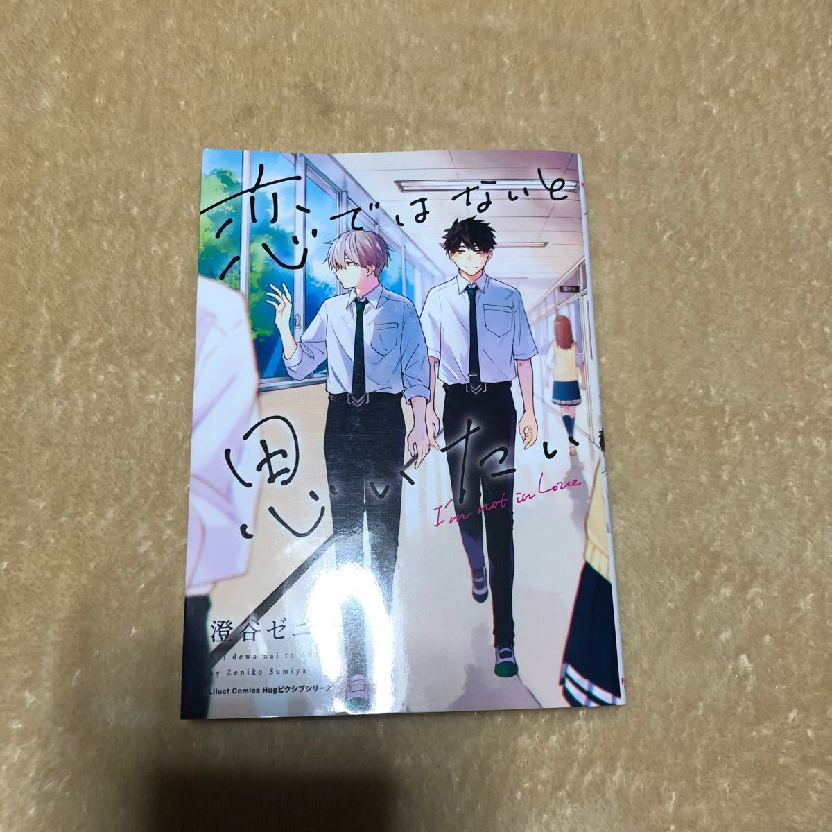 BLコミック BL漫画 恋ではないと思いたい 澄谷ゼニコ
