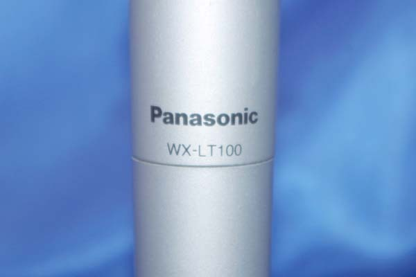 Panasonic/パナソニック 赤外線ワイヤレスマイクロホン ハンド型 ★WX-LT100★ 50728S_画像2