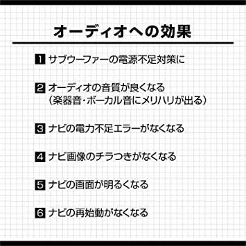 【Amazon.co.jp 限定】エーモン AODEA(オーディア) リレー付電源ケーブル 30A MAX 4968_画像3