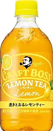 サントリー クラフトボス レモンティー 紅茶 500ml ×24本_画像1