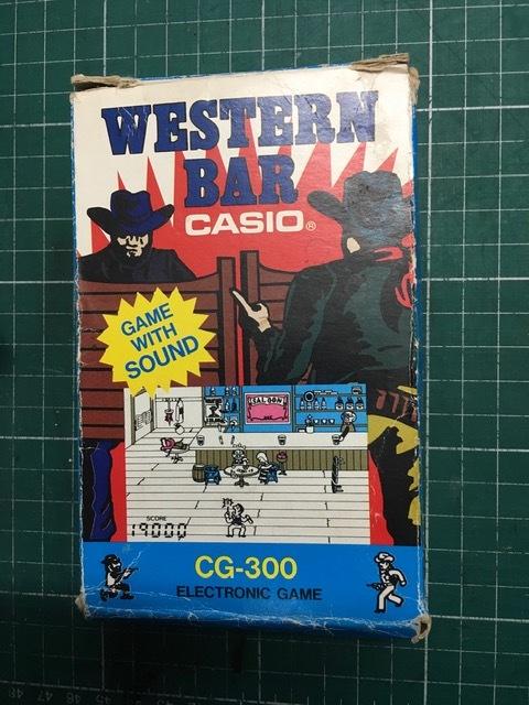 劇レア! カシオ CASIO CG-300 元箱・説明書付 ウエスタンバー WESTERN BAR ゲームウォッチサウンド_画像5