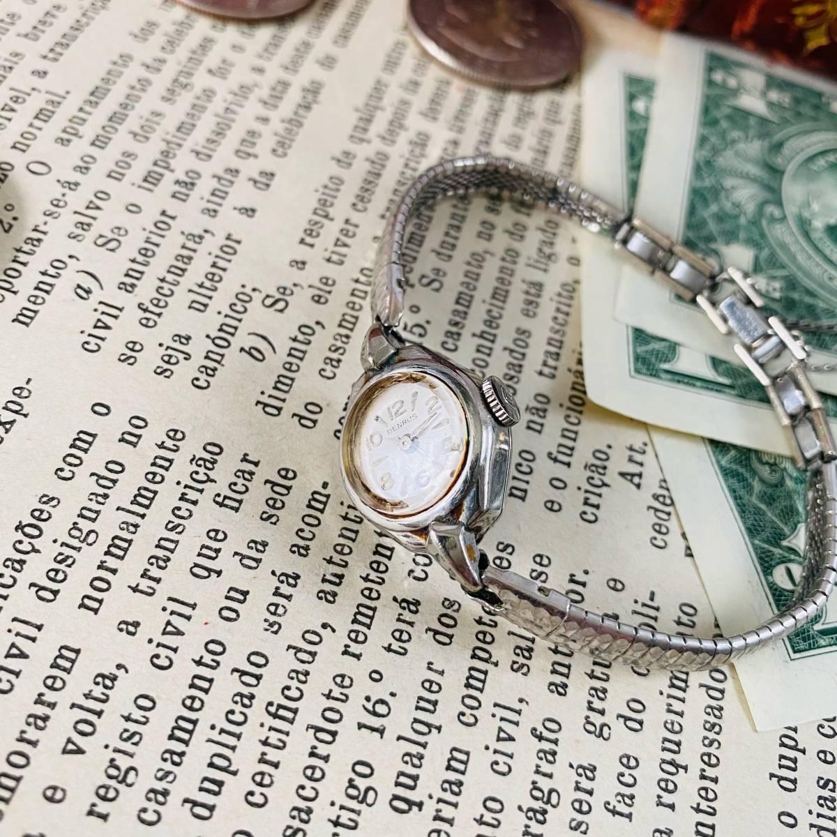 【高級腕時計 ベンラス 】Benrus 10KRGP 手巻き 17石 手巻き メンズ レディース ビンテージ アナログ 腕時計 7026_画像4