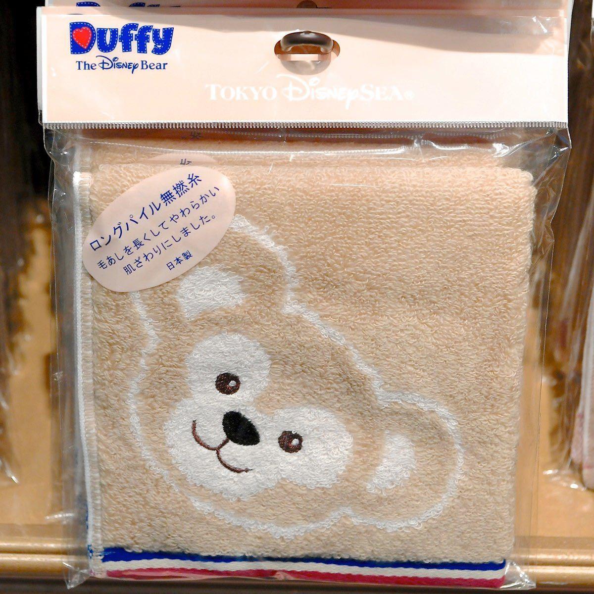 ダッフィー Duffy タオル スプーン ディズニーシー限定 日本製 未使用品 ウォッシュタオル 東京ディズニーシー_画像2