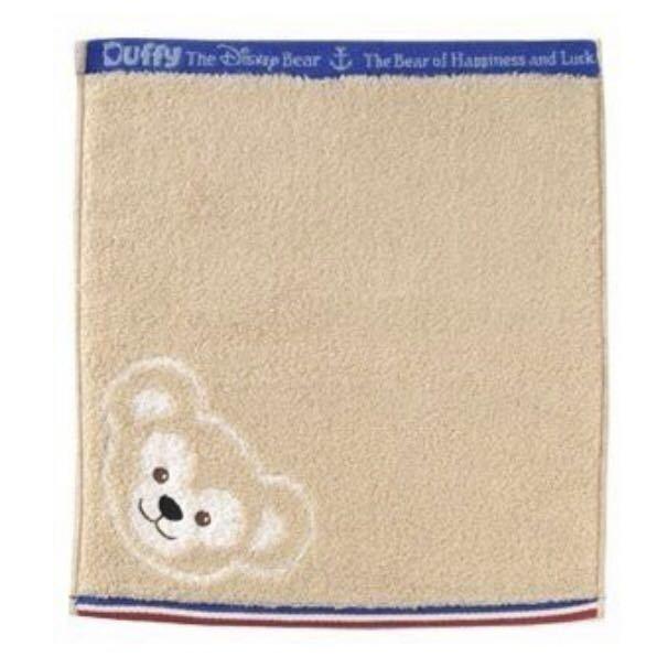 ダッフィー Duffy タオル スプーン ディズニーシー限定 日本製 未使用品 ウォッシュタオル 東京ディズニーシー_画像4
