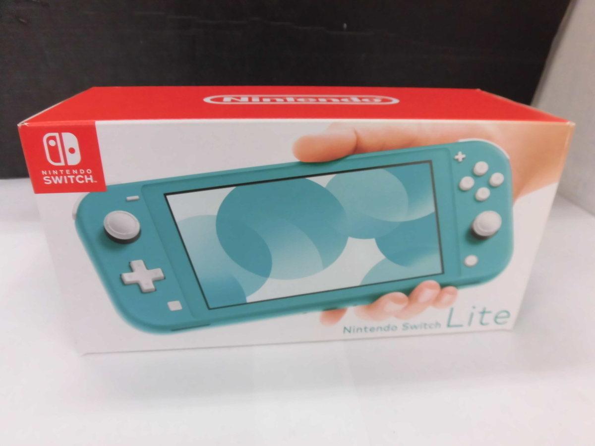 Nintendo Switch スイッチ Lite ターコイズ ver11.0.1 本体 中古品