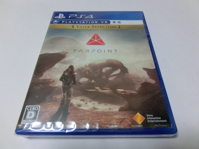 PS4 PlayStation VR シューティングコントローラー CUHJ-15006 PSVR Farpoint Firewall Zero Hour ソフト2本セット 新品