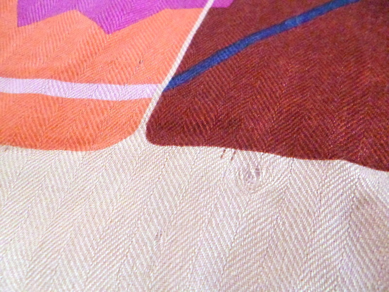 Vivienne Westwood ヴィヴィアンウエストウッド 大判ストール 【シルク・ウール】ロゴ柄