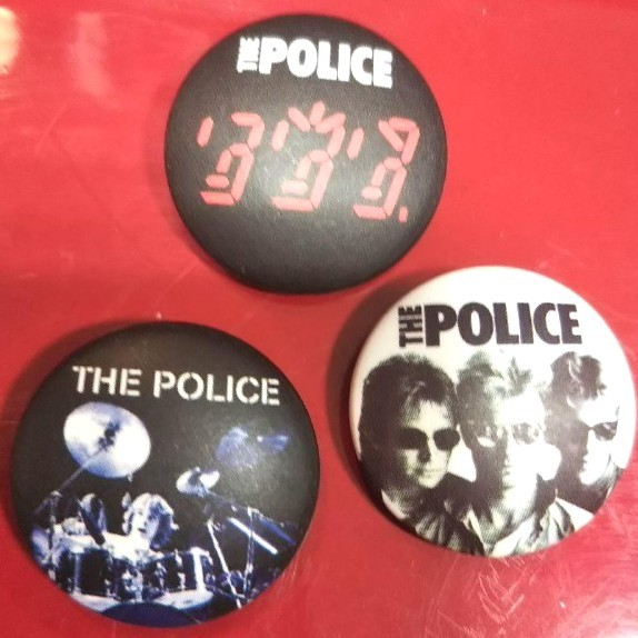 THE POLICE 缶バッジセット