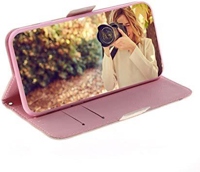 クリーム色 iPhone 11 (6.1インチ) 【Yoking】iphone11 ケース 手帳型 キラキラ 3Dの視覚 iph_画像5