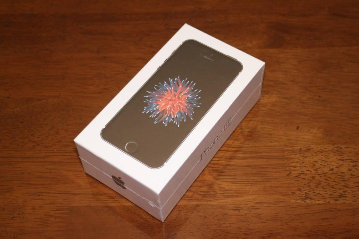 未開封 Apple iPhone SE 64GB スペースグレイ SIMフリー A1723 第一世代 リファービッシュ未使用品 安心して使用できる日本の技適製品です_安心して使用できる日本の技適製品です