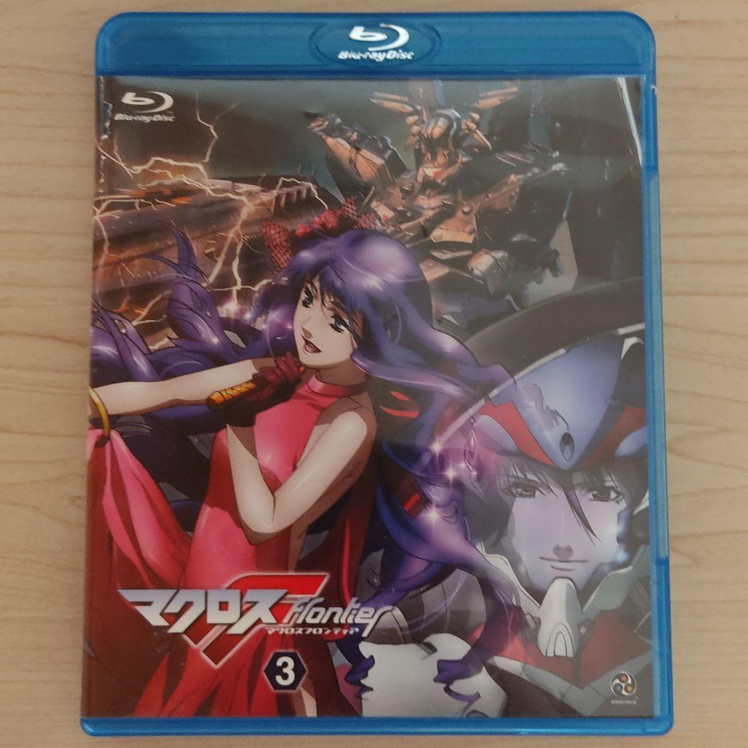 Blu-rayマクロスF(フロンティア) 3