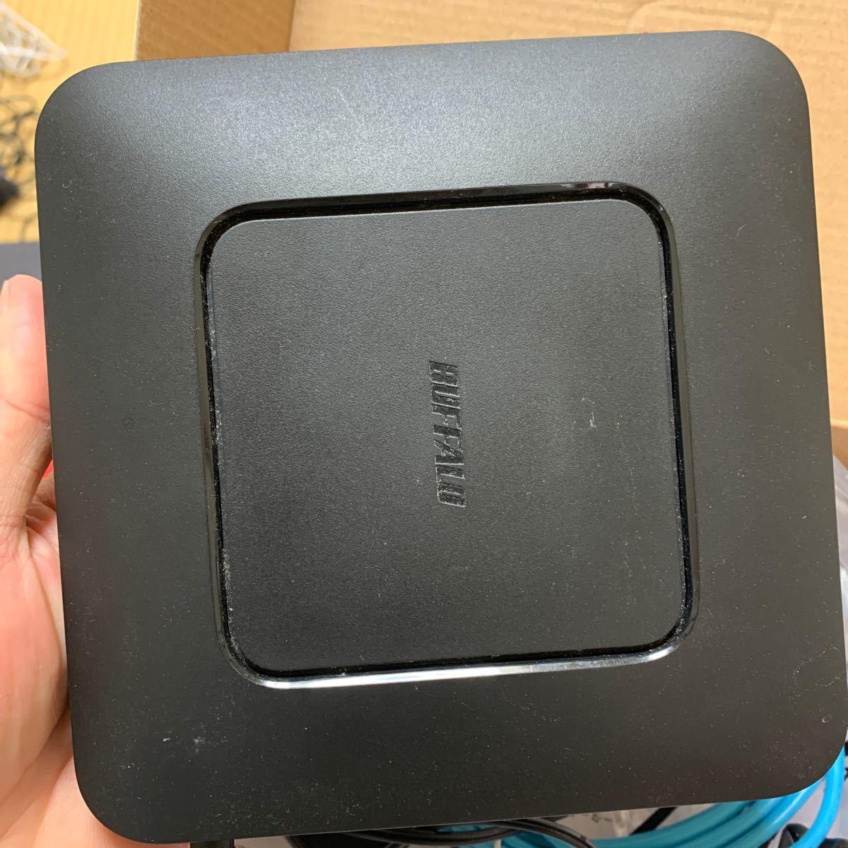 バッファロー BUFFALO WSR-600DHP [無線LAN親機 11n/a/g/b 300+300Mbps