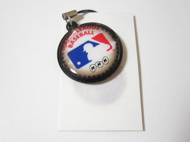 NHK メジャーリーグ ベースボール 野球 携帯クリーナー ストラップ_画像1