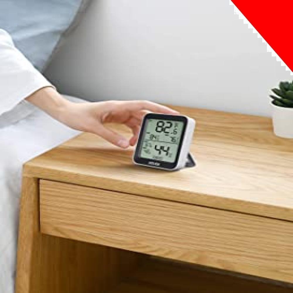 ★ホワイト 10*7*3CM デジタル温湿度計 温度計 湿度計 Govee 3段階の快適度目安表示 LCD大画面 アプリコントロ_画像7