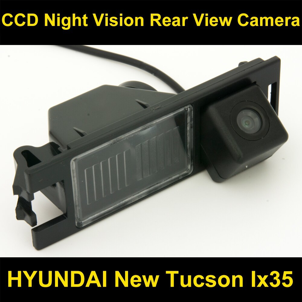 CCD 車のリアビューバックアップリバースパーキングカメラ HYUNDAI NEW ツーソン IX35 2005 2006 20_画像1