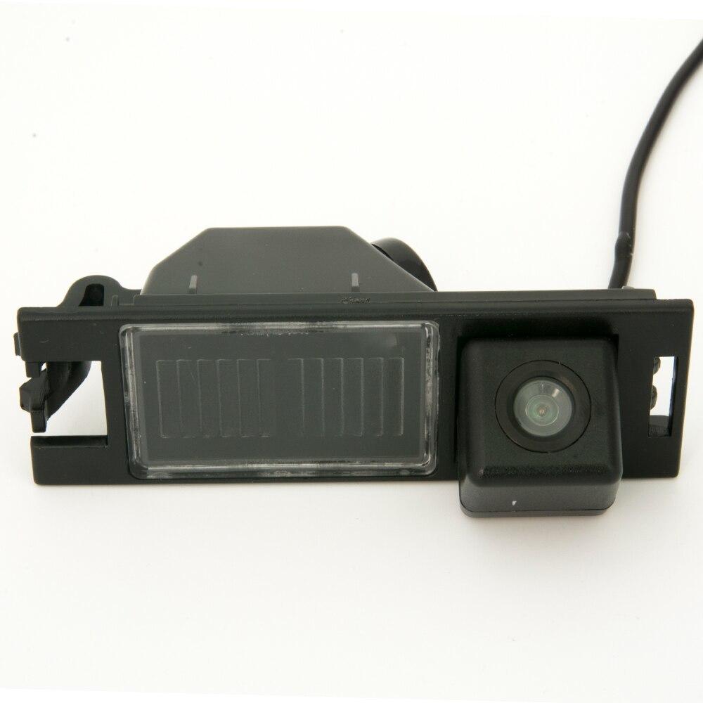 CCD 車のリアビューバックアップリバースパーキングカメラ HYUNDAI NEW ツーソン IX35 2005 2006 20_画像3