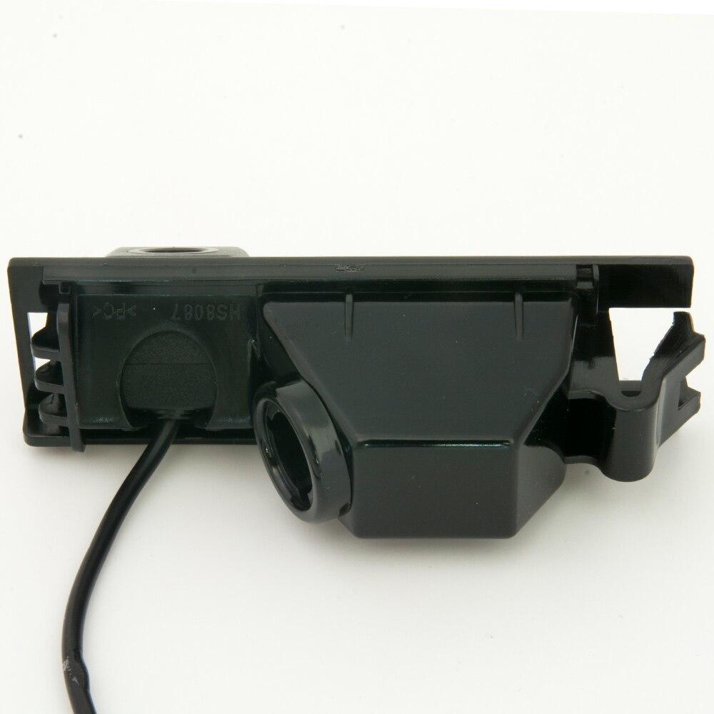 CCD 車のリアビューバックアップリバースパーキングカメラ HYUNDAI NEW ツーソン IX35 2005 2006 20_画像4