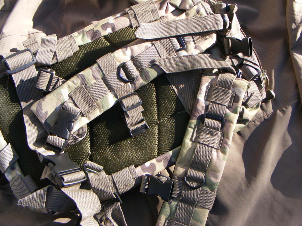 ■ 完全在庫処分価格!サバゲーアフターアウトドア US BDU 迷彩仕様 Assault BAG アサルトバックB 新品未使用品!■_画像5