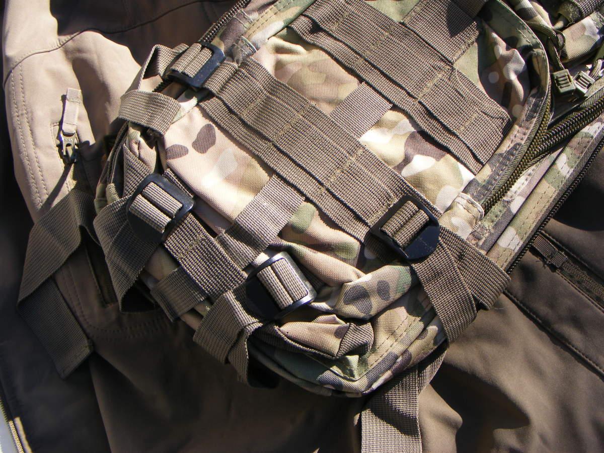 ■ 完全在庫処分価格!サバゲーアフターアウトドア US BDU 迷彩仕様 Assault BAG アサルトバックB 新品未使用品!■_画像2