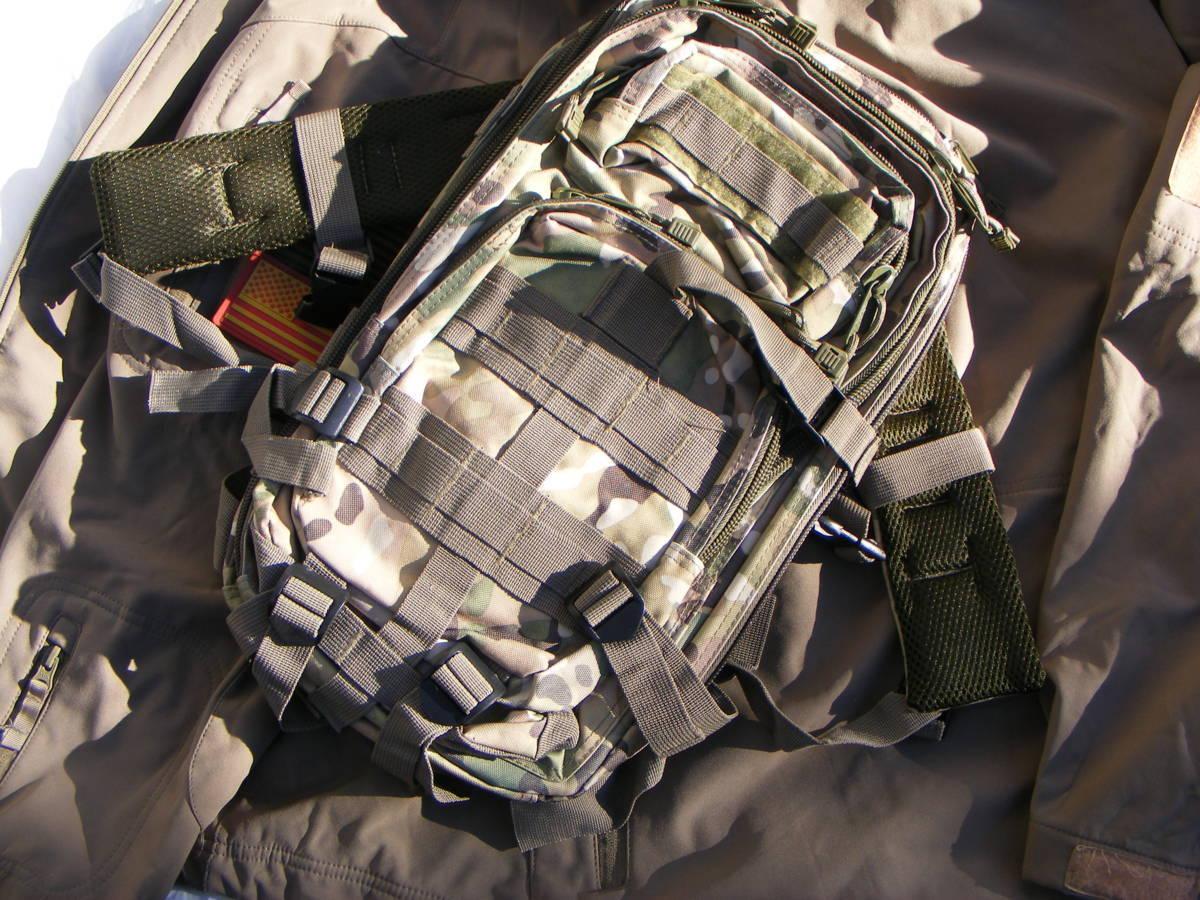 ■ 完全在庫処分価格!サバゲーアフターアウトドア US BDU 迷彩仕様 Assault BAG アサルトバックB 新品未使用品!■_画像6