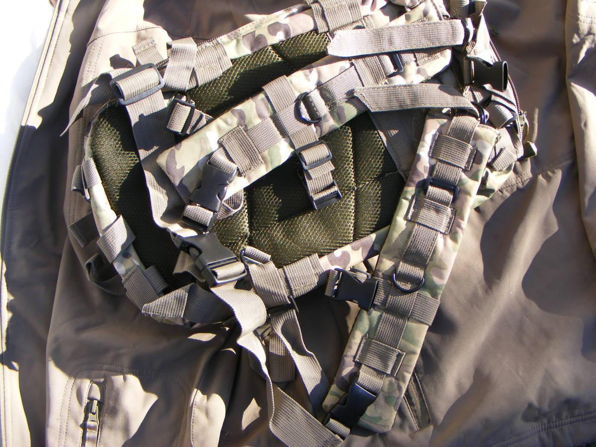 ■ 完全在庫処分価格!サバゲーアフターアウトドア US BDU 迷彩仕様 Assault BAG アサルトバックB 新品未使用品!■_画像4