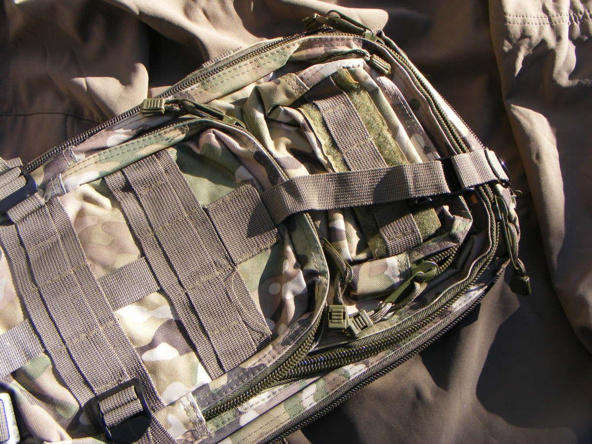 ■ 完全在庫処分価格!サバゲーアフターアウトドア US BDU 迷彩仕様 Assault BAG アサルトバックB 新品未使用品!■_画像1