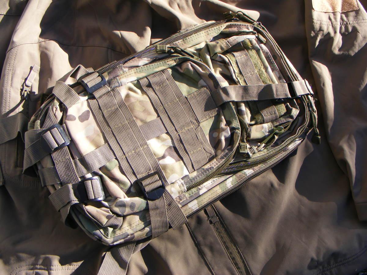 ■ 完全在庫処分価格!サバゲーアフターアウトドア US BDU 迷彩仕様 Assault BAG アサルトバックB 新品未使用品!■_画像3
