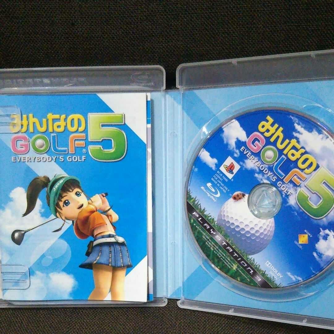 PS3 みんなのゴルフ5