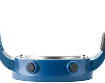 ブルー デジタル腕時計 メンズ スポーツウォッチ 日付表示 アラーム 大文字盤 LED バックライト ストップウオッ_画像5