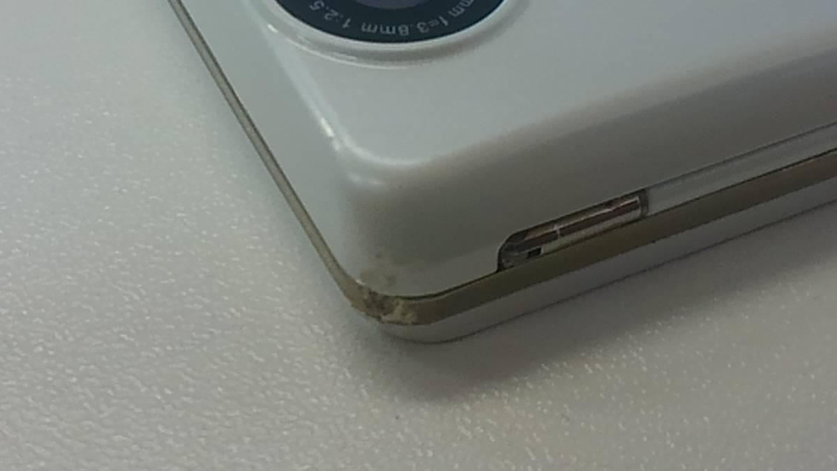 #ジャンク品#docomo#AQUOS PHONE SH-01D(ホワイト)#XA596#1/18_画像5