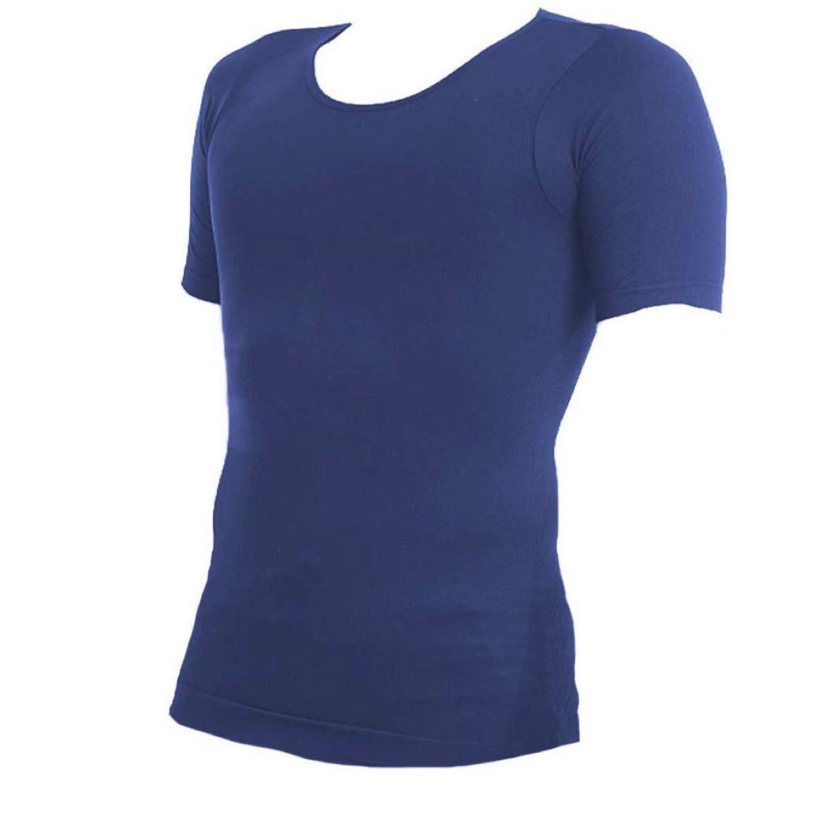 半袖 加圧シャツ メンズ M