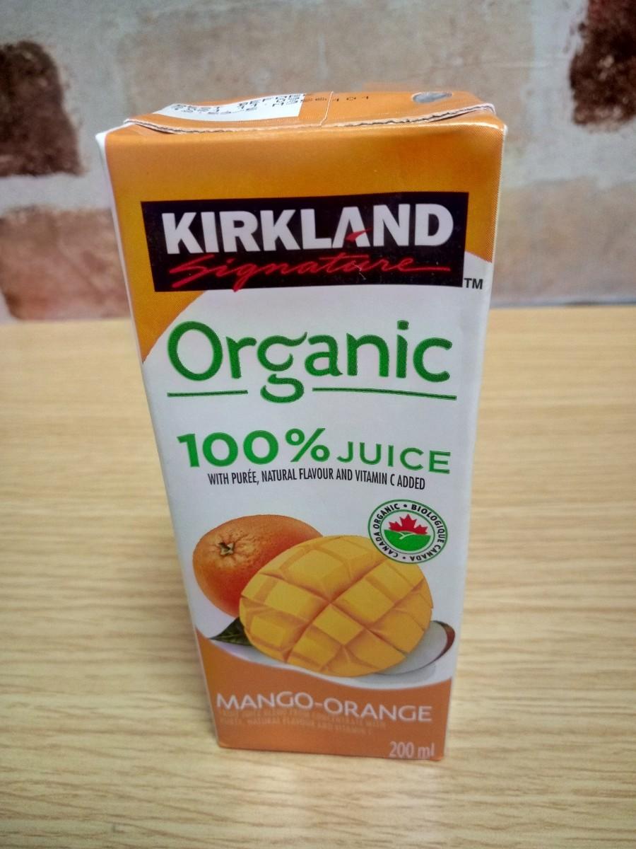 オーガニックジュース マンゴーオレンジ 8パック 味 変更可能
