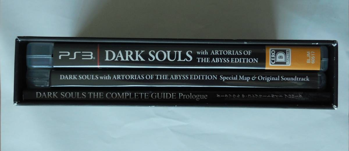 PS3 ゲームソフト☆DARK SOULS with ARTORIAS OF THE ABYSS EDITION☆【送料無料】