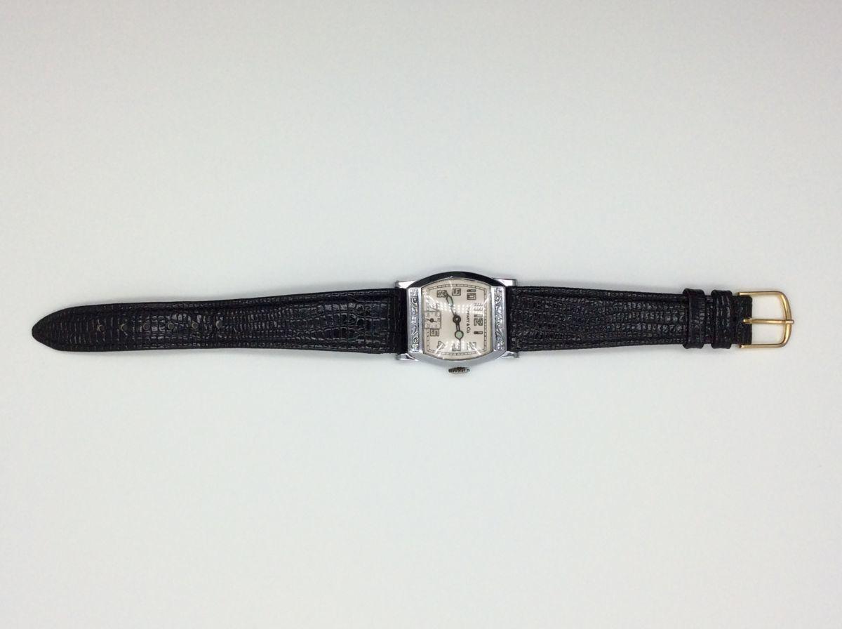 TIFFANY 腕時計 ティファニー Z ヴィンテージ アンティーク 手巻き ベルト社外品 希少◆3107/SBS通り店_画像6