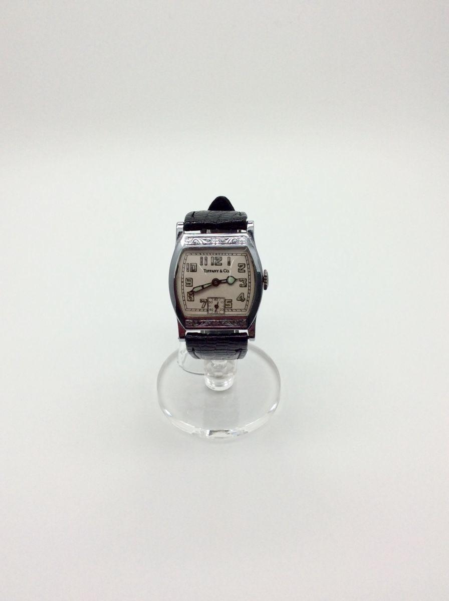 TIFFANY 腕時計 ティファニー Z ヴィンテージ アンティーク 手巻き ベルト社外品 希少◆3107/SBS通り店_画像1