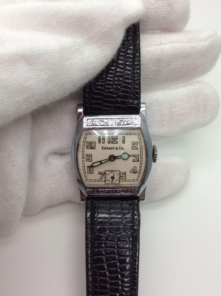 TIFFANY 腕時計 ティファニー Z ヴィンテージ アンティーク 手巻き ベルト社外品 希少◆3107/SBS通り店_細かい傷有り