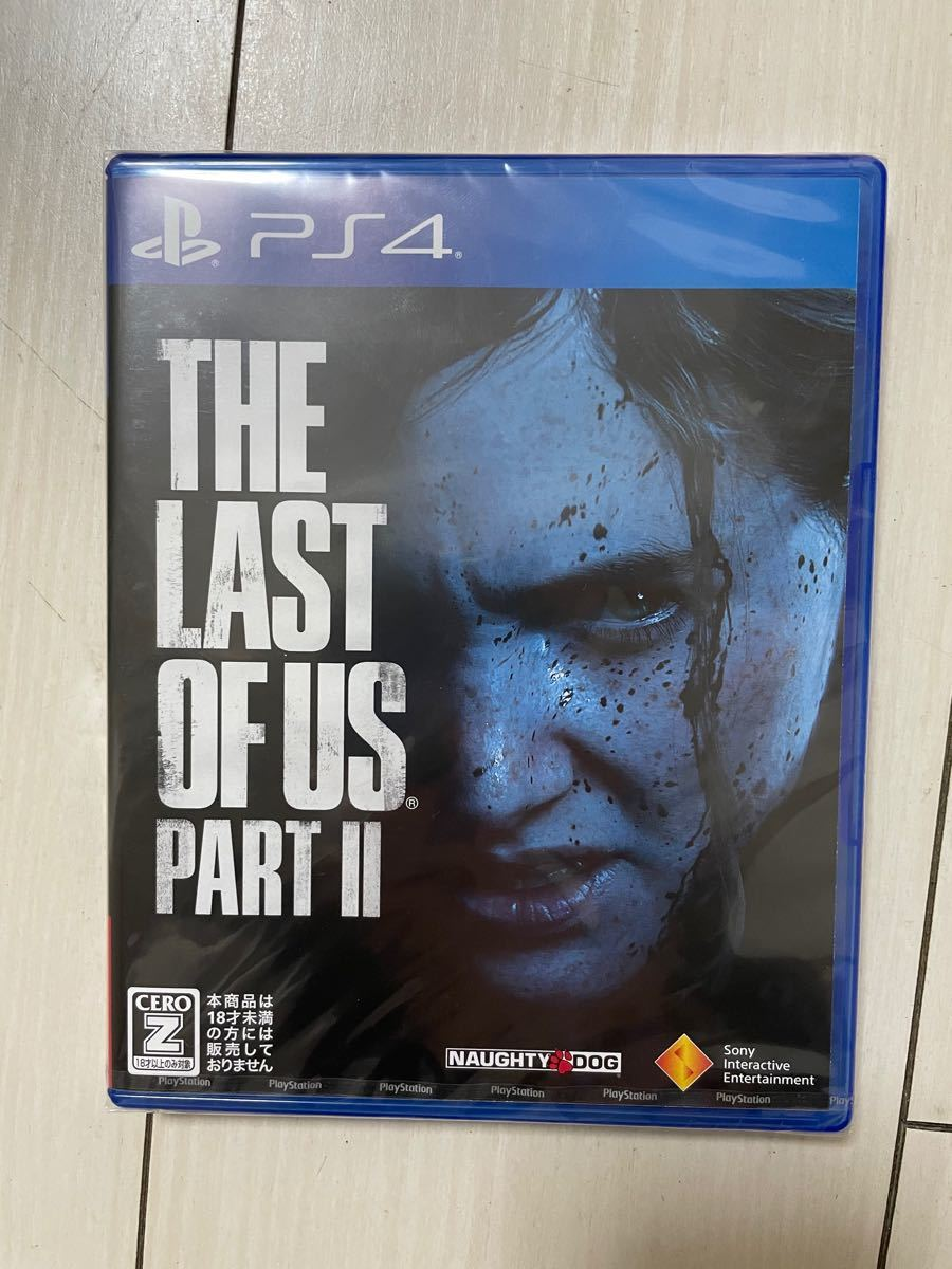 PS4 The Last of Us Part II【CEROレーティング Z