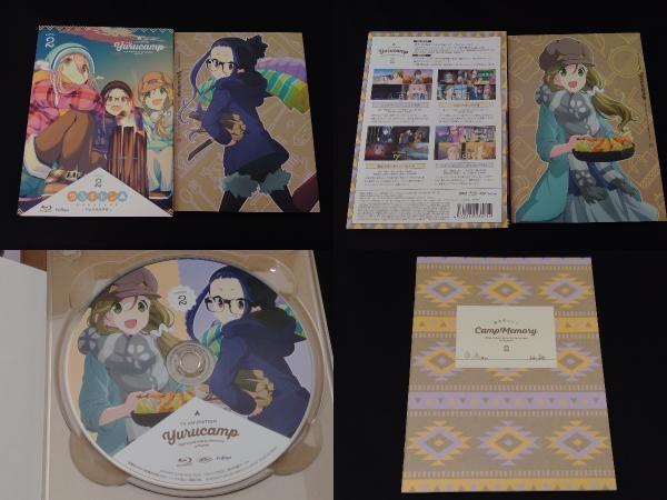 【※※※】[全3巻セット]ゆるキャン△ 第1~3巻(Blu-ray Disc)_画像3