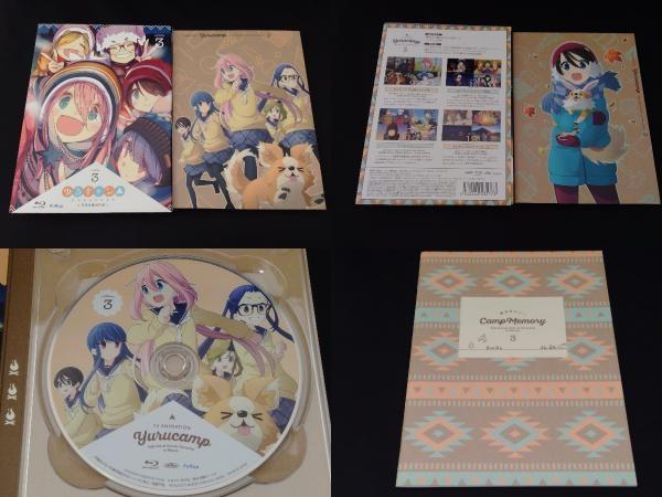 【※※※】[全3巻セット]ゆるキャン△ 第1~3巻(Blu-ray Disc)_画像4