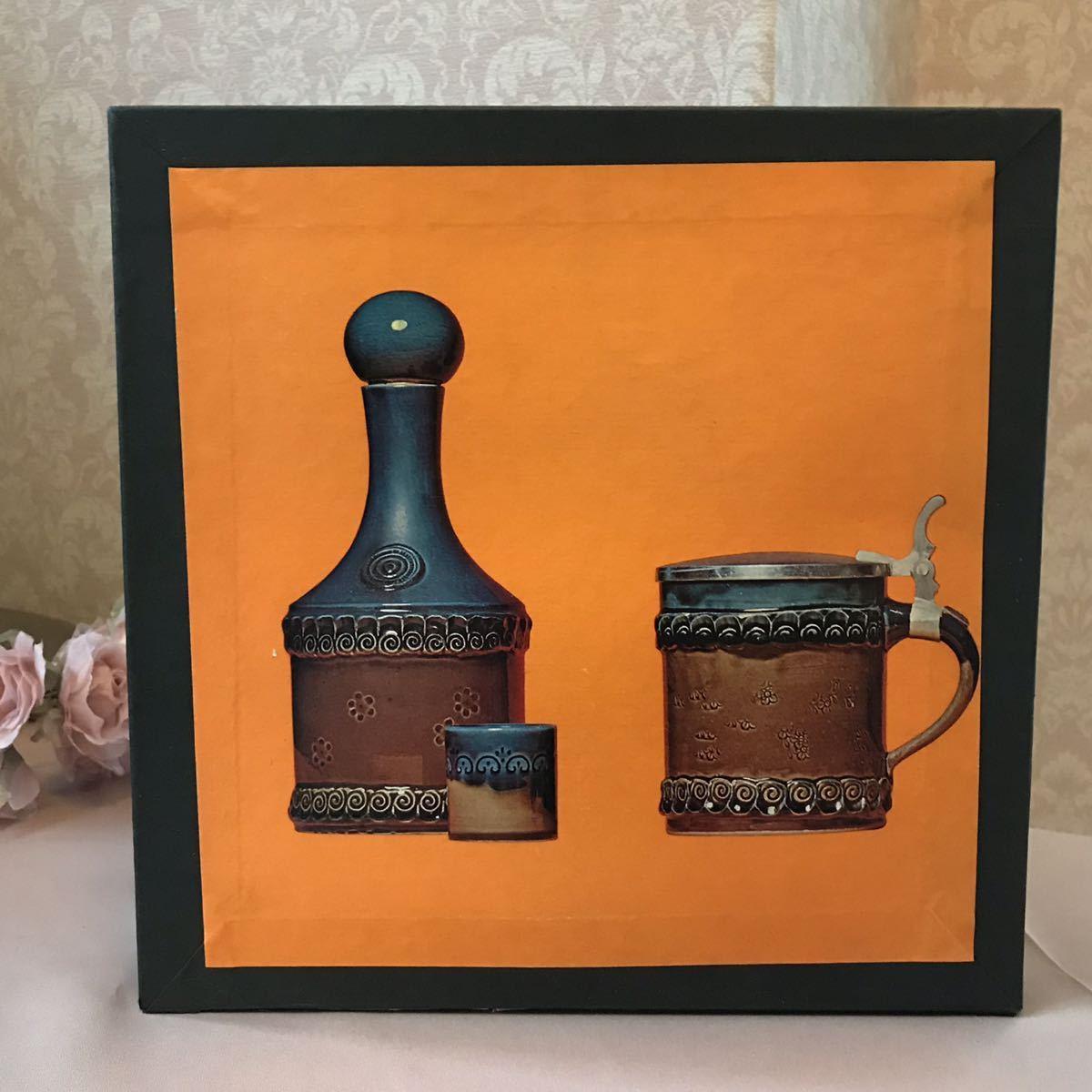 〈送料込〉ローゼンタール ビョルン ヴィンブラッド リキュール セット Rosenthal Bjorn Wiinblad 陶器 食器 ポット ボトル カップ ドイツ_画像9