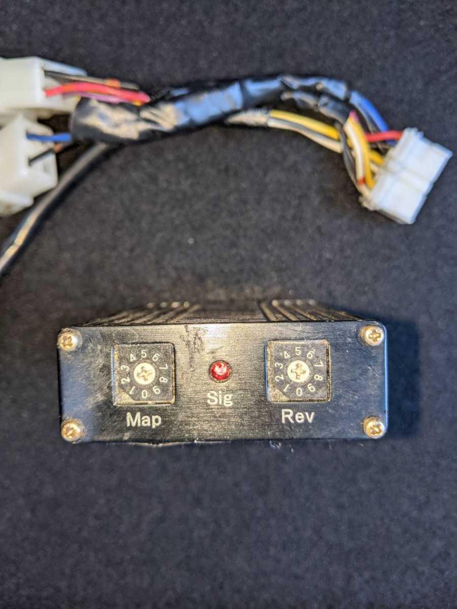 ゼファー750(ZEPHYR)91~99年 前期モデル HIR TG-Nakagawaチューニングマップ入り イグナイター コンピューター 中古_画像2