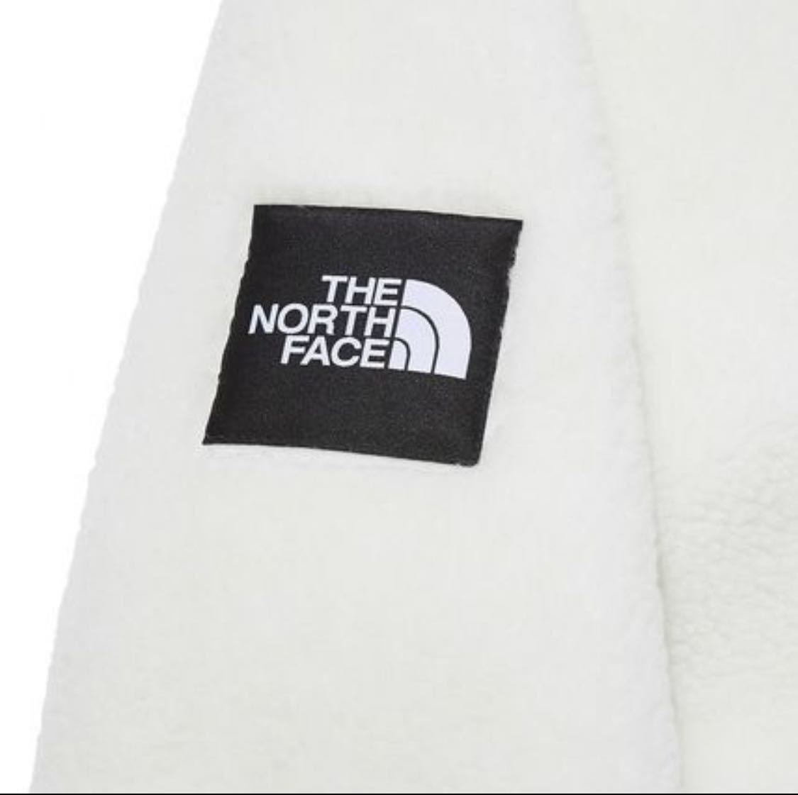 【新品正規品】ノースフェイス リモフリース M ボアジャケット THE NORTH FACE RIMO FLEECE JACKET IVORY アイボリー M_画像5