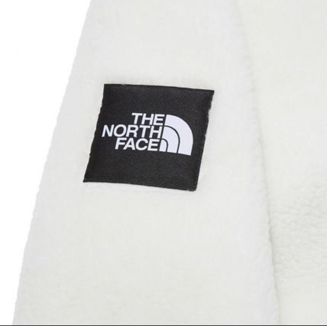 【新品正規品】ノースフェイス リモフリース S ボアジャケット THE NORTH FACE RIMO FLEECE JACKET IVORY アイボリー S_画像5