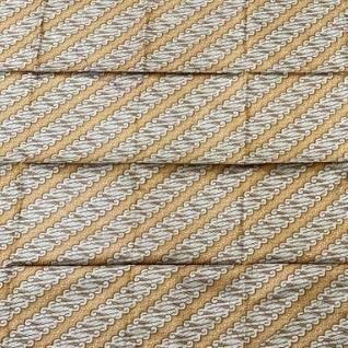 バティック インドネシア ジョグジャカルタ 黄色 伝統柄