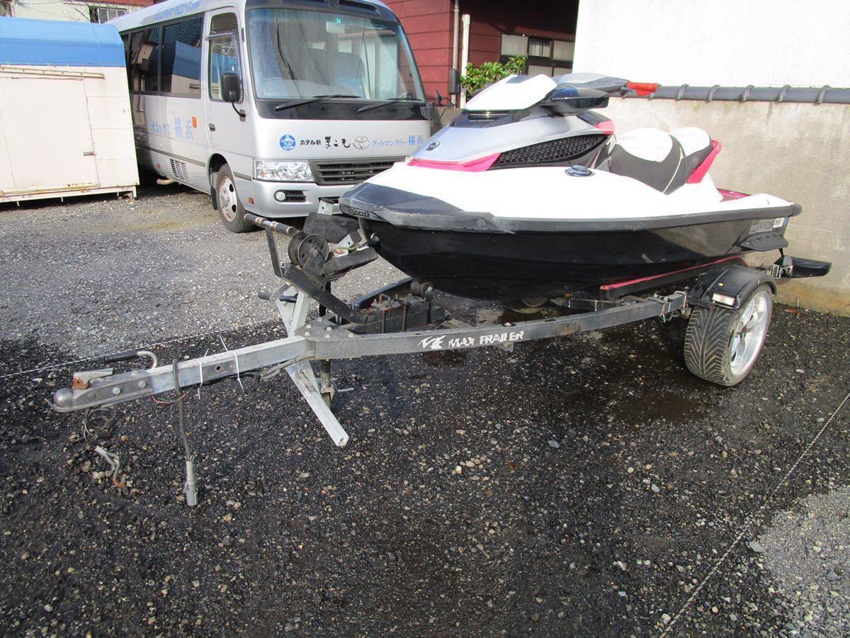 「SEADOO ジェットスキー トレーラー車検付き」の画像1