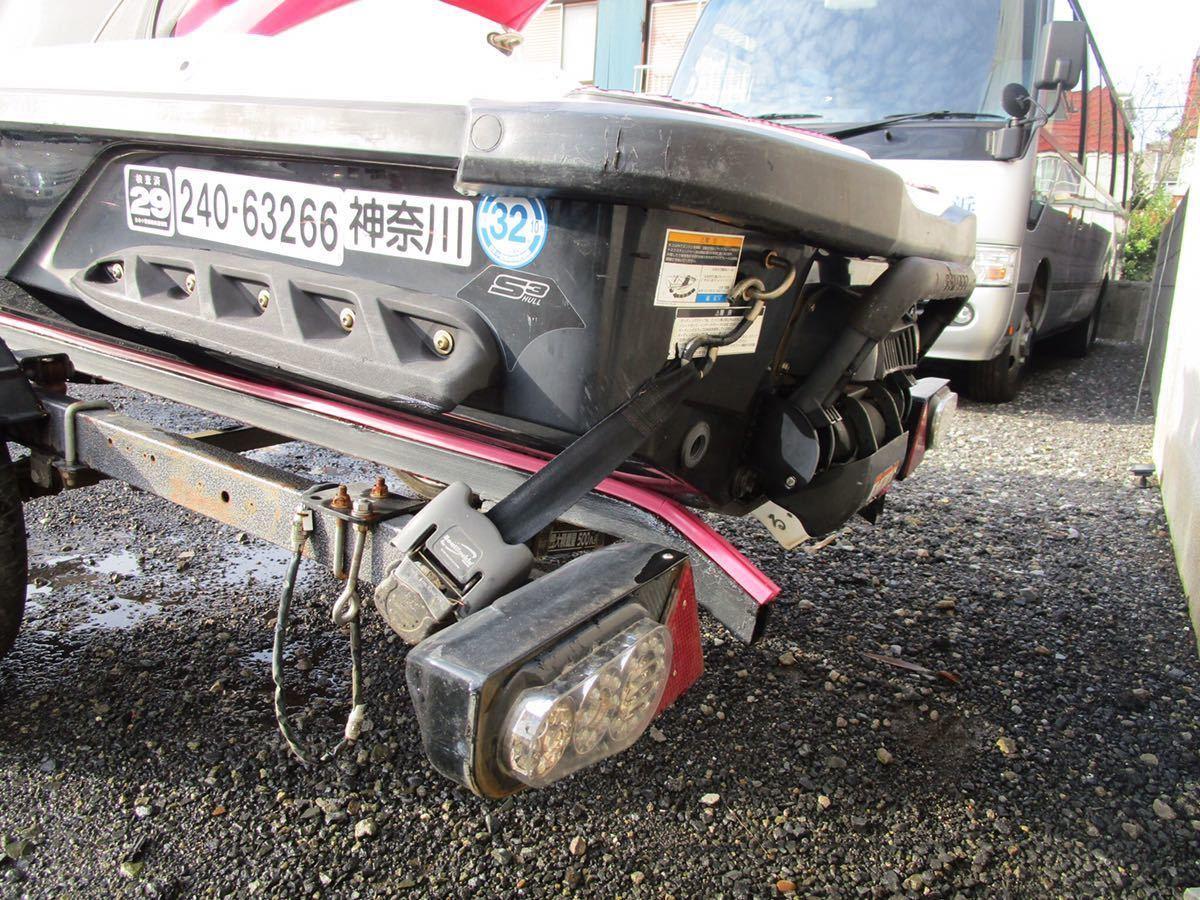 「SEADOO ジェットスキー トレーラー車検付き」の画像3