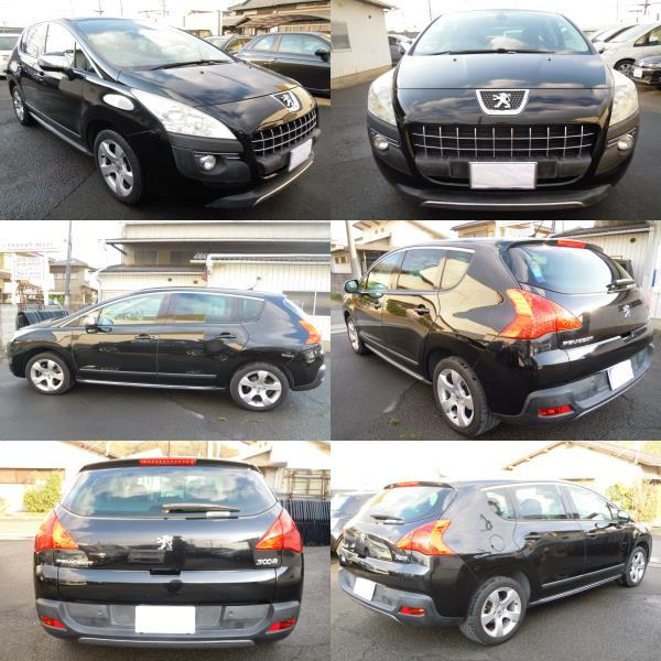 """Peugeot 3008 premium 1.6 turbo glass roof head up display ETC vehicle inspection """"shaken"""" . peace 3 year 12 to month"""