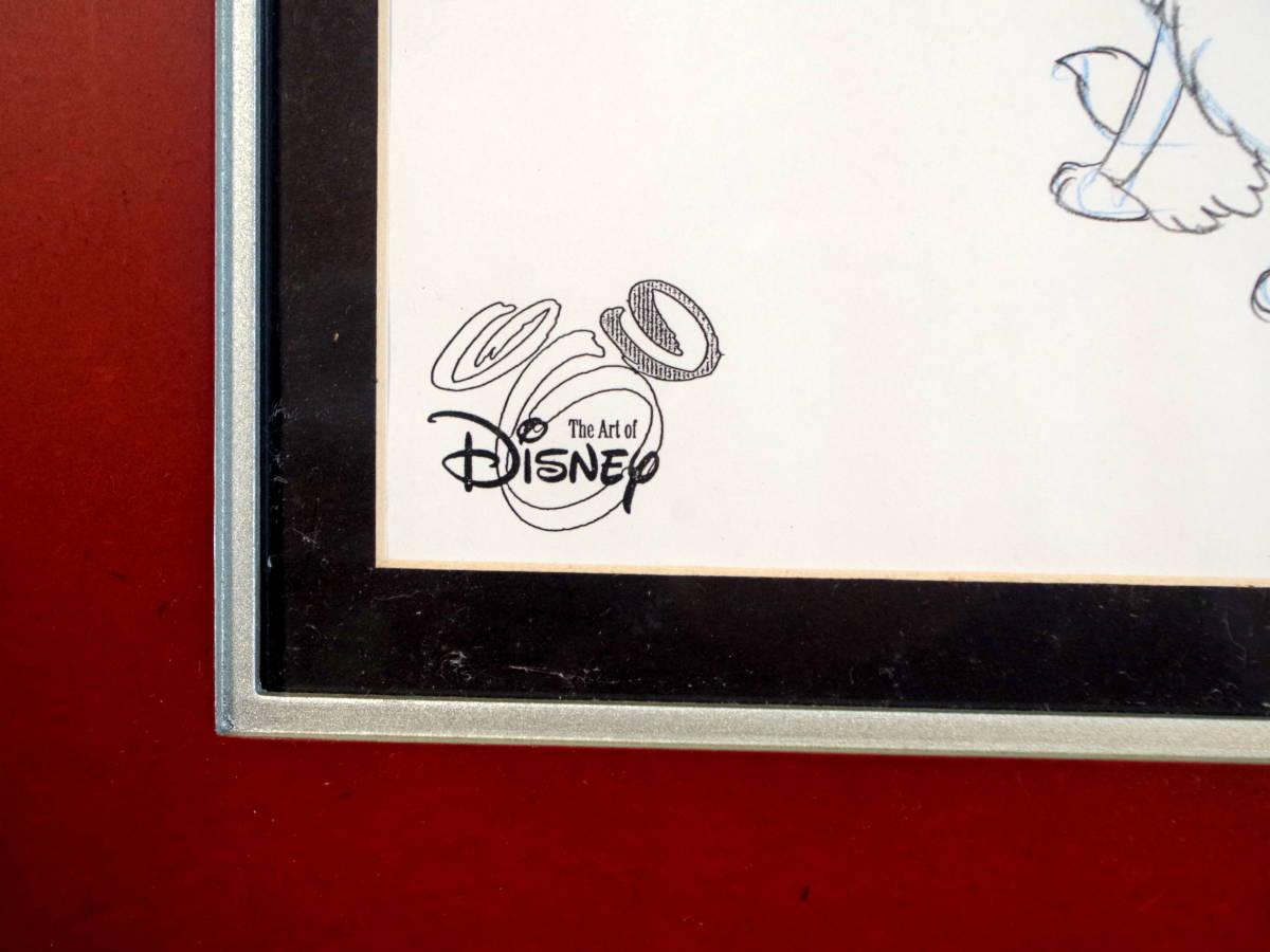 ディズニー わんわん物語 スケッチ レディとトランプ / 手書き イラスト Disney デッサン 色鉛筆 原画_画像5