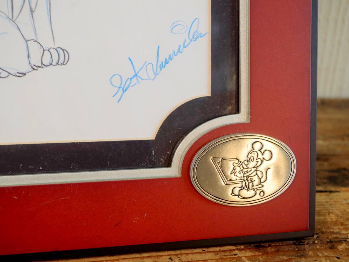 ディズニー わんわん物語 スケッチ レディとトランプ / 手書き イラスト Disney デッサン 色鉛筆 原画_画像6