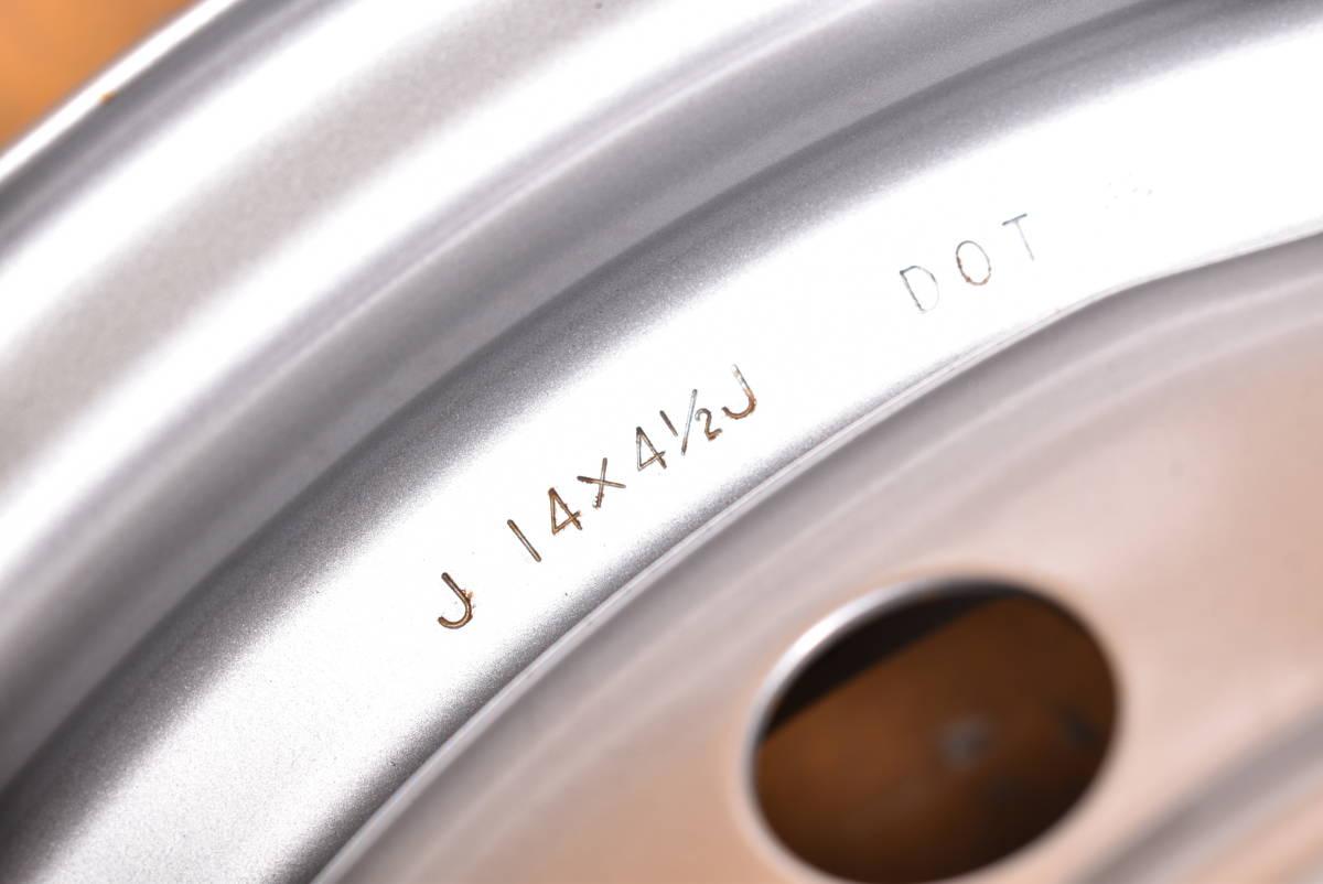 201224501547210 ダイハツ 14x4.5J +45 4H PCD100 ハブ径56mm 1本価格_画像4